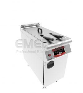 Friteuza electrica 18 litri cu control digital si suport inchis 40x90x85