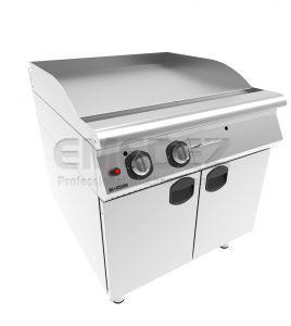 Grătar grill gaz cu placa neteda si suport inchis 80x90x85