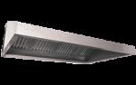 Hota inox prindere in perete cu filtru anti flacara 400x117x50