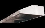Hota inox prindere in perete fara filtru 400x147x50