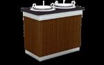 Unitate de servire cu incalzire pentru farfurii 70x100x90