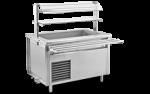 Unitate de servire electrica rece cu bazin 150x75x85