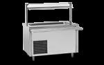 Unitate de servire electrica rece cu bazin ingust 115x75x85