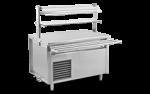 Unitate de servire electrica rece cu blat plin 150x75x85
