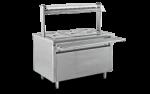 Unitate servire electrica calda cu dulap cald 150x75x85